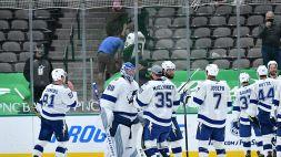 NHL: Tampa Bay sorride all'overtime con Hedman
