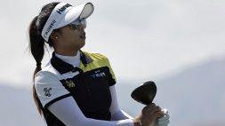 Golf: Ana Inspiration, Tavatanakit sorprende le big