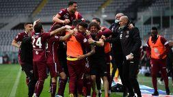 Serie A, Torino-Juventus 2-2: le foto