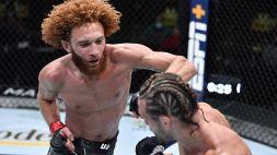 UFC: le foto della prima vittoria di Pena