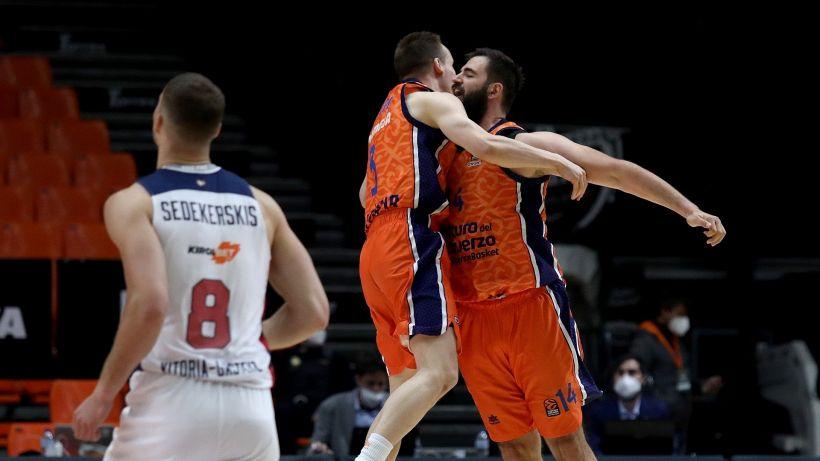 Eurolega: Polonara e Baskonia eliminati, CSKA secondo