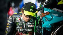 MotoGp, Valentino Rossi afflitto e Pecco Bagnaia si ribella