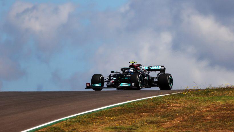F1, prime libere GP Portogallo: Bottas davanti, Ferrari quarta