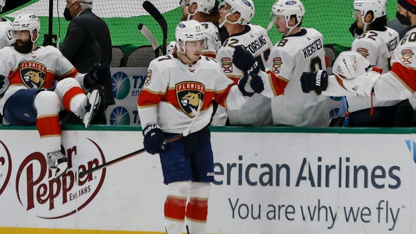 NHL: Vatrano rende felici i Panthers