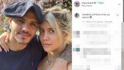 Wanda Nara e Mauro Icardi censurati da Instagram: rimosso post