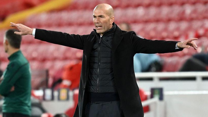 """Real-Siviglia di fuoco, Zidane: """"Mi spieghino la regola sul fallo di mano"""""""