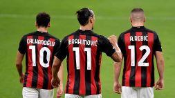Serie A, Milan-Sassuolo: le probabili formazioni