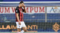 Un turno a Zlatan Ibrahimovic: le motivazioni della squalifica