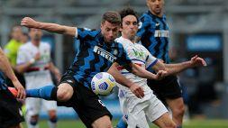 Inter, è corsa a Pinamonti: l'Empoli supera il Cagliari