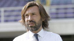 "Juventus-Milan, Pirlo sorride: ""Tutta la rosa a disposizione"""