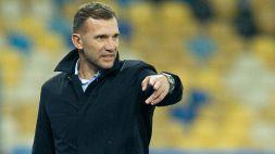 """Shevchenko: """"Siamo stati all'altezza"""""""