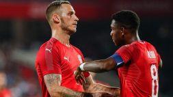 Euro 2020: Arnautovic e Alaba prendono per mano l'Austria