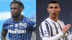 Ufficiale: Atalanta-Juventus coi tifosi, ma con limitazioni