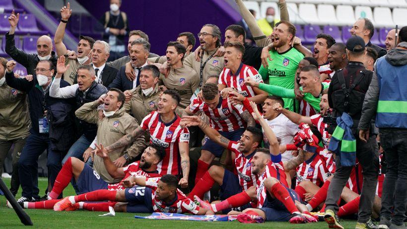 Liga, Atletico Madrid campione: decisiva la vittoria col Valladolid