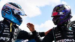 """Bottas: """"Bella sensazione tornare in pole"""". Hamilton: """"Gran lavoro di tutto il team"""""""