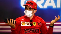 F1, Ferrari e Leclerc sotto attacco: spunta l'audio Mercedes