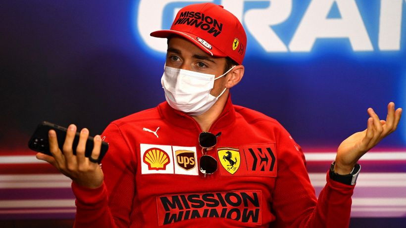 "F1, Leclerc: ""Colpa mia, pessima scelta"""
