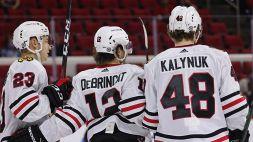 NHL: i Blackhawks fermano la corsa degli Hurricanes