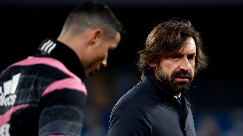 Juventus, Andrea Pirlo si espone sull'ultima gara di Ronaldo