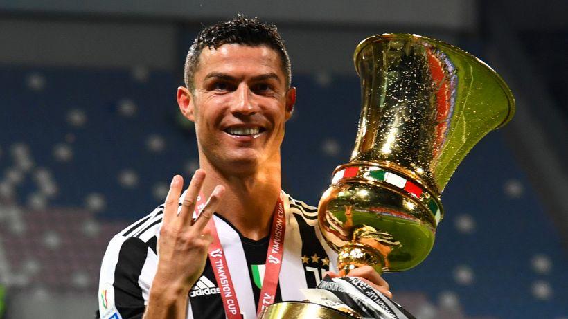 Ora c'è anche la Coppa: Cristiano Ronaldo ha vinto tutto in Italia