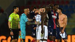 Serie A, Crotone-Inter 0-2: le foto