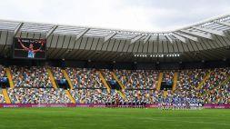 """L'annuncio dell'Udinese: """"Inaugurato hub vaccinale alla Dacia Arena"""""""