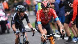 Giro d'Italia, la tappa da Campione di Damiano Caruso