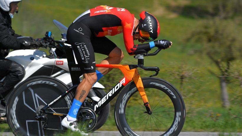"""Giro D'Italia, Caruso: """"Siamo qui per vincere"""""""