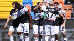 Udinese-Bologna 1-1: un punto a testa per la salvezza, le pagelle