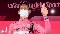 Giro: De Marchi in Rosa e il braccialetto per Giulio Regeni