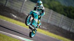 Dennis Foggia trionfa in Moto3 al Mugello