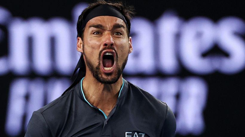 """Roland Garros, Fognini sbotta: """"Basta con Sinner e Musetti"""""""