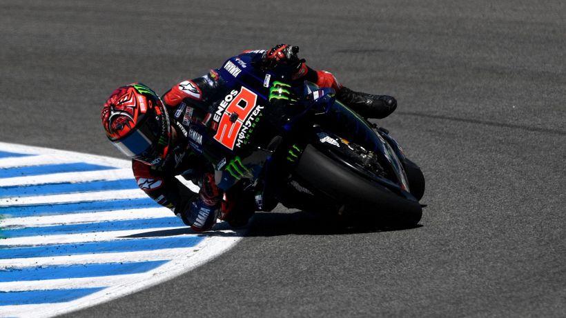 MotoGP, al Mugello Quartararo in pole: Rossi affonda