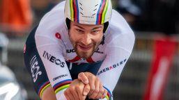 Giro d'Italia 2021, Filippo Ganna rosa di gioia