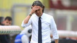 Benevento nei guai, Filippo Inzaghi manda un messaggio a Simone