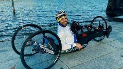 Incidente in handbike, gravissimo Fittipaldi del team di Alex Zanardi