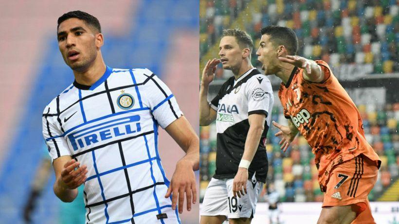 Top e Flop 34ª giornata: Hakimi per l'Inter tricolore, torna Cr7