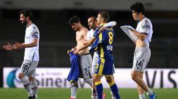 Verona-Bologna 2-2: Hellas ripreso due volte da Mihajlovic