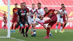 Roma-Crotone 5-0: doppiette per Mayoral e Pellegrini, le pagelle