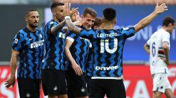 Inter-Sampdoria 5-1: i nerazzurri festeggiano lo Scudetto con una manita. Le pagelle