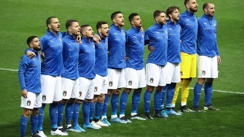 Euro 2020, i 28 pre-convocati di Mancini: c'è un taglio a sorpresa