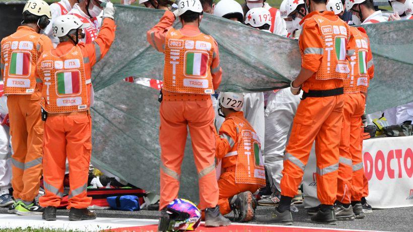 Moto3, Dupasquier in gravi condizioni: gli aggiornamenti