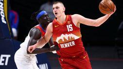 NBA: un super Jokic manda al tappeto i Clippers