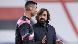 Juventus, Andrea Pirlo esulta e spiega l'esclusione di Ronaldo