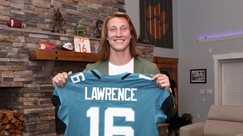 "NFL, Lawrence: ""Entusiasta di giocare a Jacksonville"""