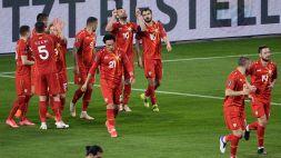 """Euro 2020: la Macedonia del Nord con il """"vecchio"""" Pandev e il giovane Elmas"""