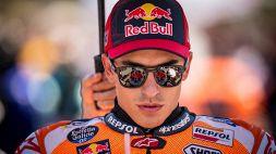 MotoGp, Marquez ringrazia la pista e bacchetta la Honda