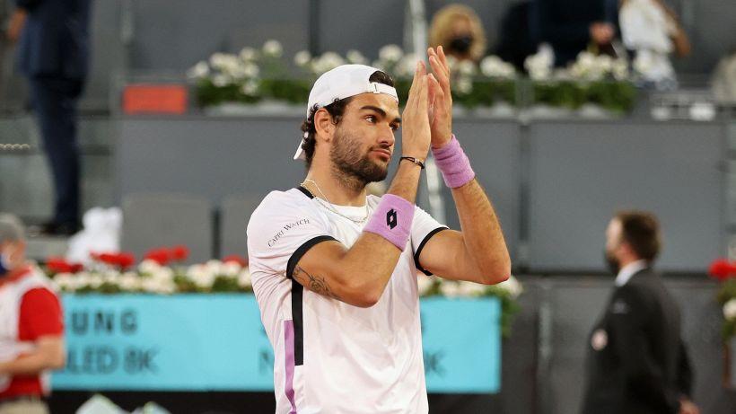 Strepitoso Matteo Berrettini: è in finale a Madrid contro Sascha Zverev