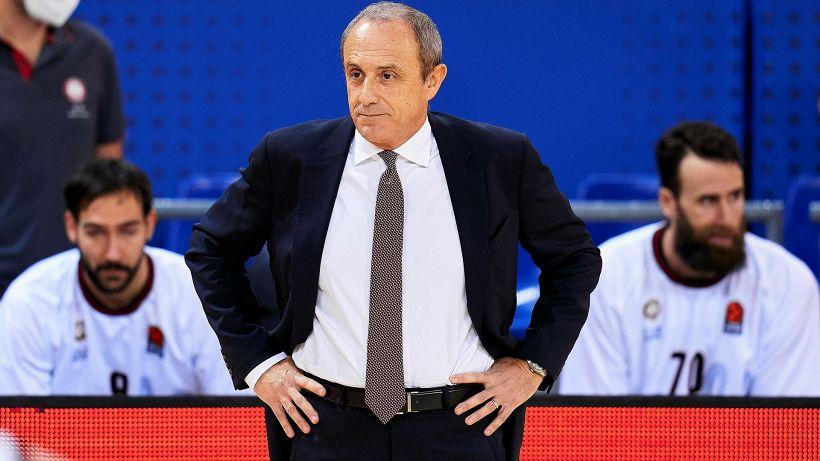 """Olimpia Milano, Messina è severo: """"Non si possono prendere 90 punti"""""""