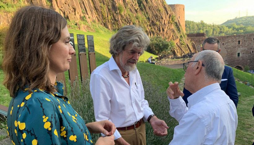 Reinhold Messner si risposa a 77 anni con Diane Schumacher
